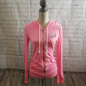 PINK Victoria's Secret Light Hoodie Sweatshirt